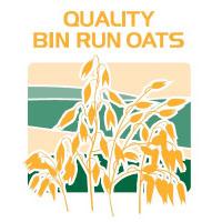 quality bin run oats feed bag icon