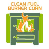 clean fuel burner corn bag icon