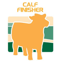 calf finisher feed bag icon