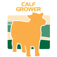 calf grower feed bag icon