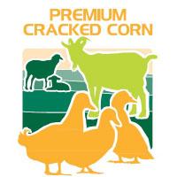 premium cracked corn feed bag icon